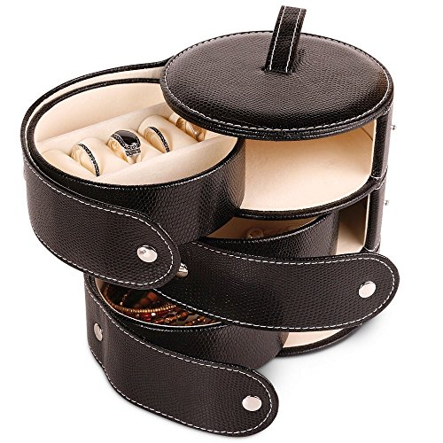 Launch Innovative Products Ursula Leatherette Mini Jewelry Box