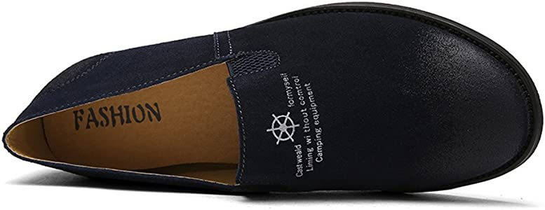 Aaron Mens Driving Shoes Premium Genuine PU Fashion Slipper Casual Slip On Loafers Shoes