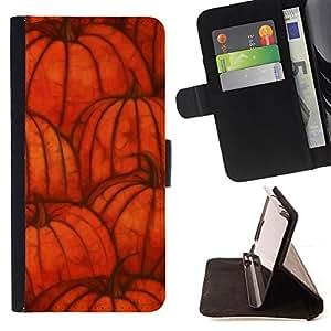 /Skull Market/ - HALLOWEEN ORANGE AUTUMN PUMPKIN FALL For Samsung Galaxy S4 Mini i9190 - Caja de la carpeta del tir???¡¯???€????€??????&acir