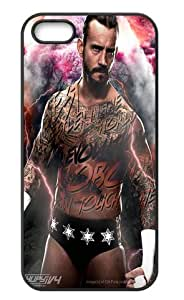 WWE Wrestler CM Punk Phone Shell Cover Case for iPhone 5/5s
