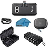 FLIR ONE Pro Thermal Imaging Camera Android USB-C Bundle With Rugged Waterproof Case and Cleaning Cloth