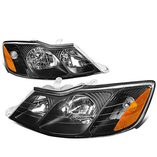 For Avalon Pair Black Housing Amber Corner Front Bumper Driving Headlights/Lamps ()