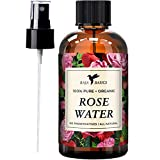 Rose Water 100% Pure Toner and Spray by Baja Basics For Skin, Hair