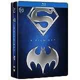 Batman/Superman Anthology Collection SteelBook 9 Movie Film Set (9 Disc) [Blu-ray]