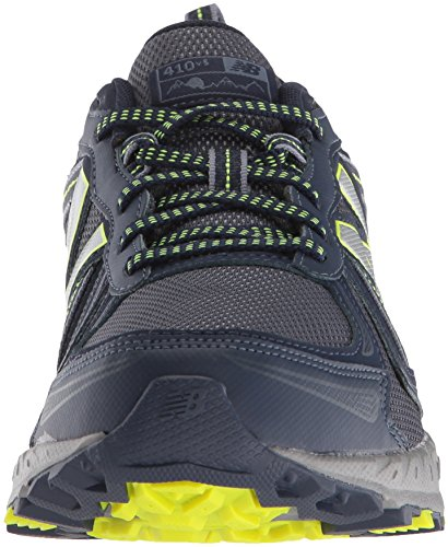 New Balance Men's MT410v5 Cushioning Trail Running Shoe, Navy/Yelow, 7.5 D US by New Balance (Image #4)