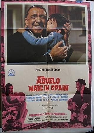 Cartel cine - Movie Poster : ABUELO MADE IN SPAIN - Original ...