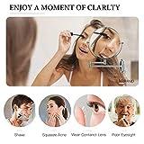 GloRiastar 10X Wall Mounted Makeup Mirror