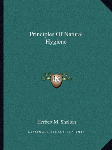Principles Of Natural Hygiene pdf