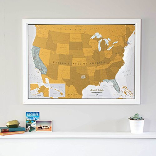 Top Best 5 scratch off usa map for sale 2016 | BOOMSbeat