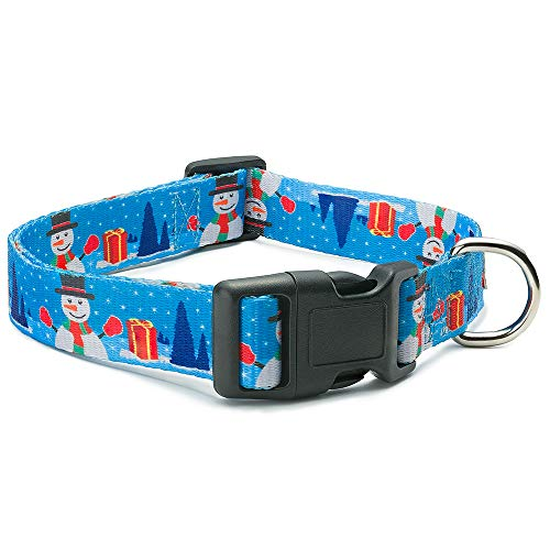 - Dog Karma Christmas Collar (Snowman, Medium)