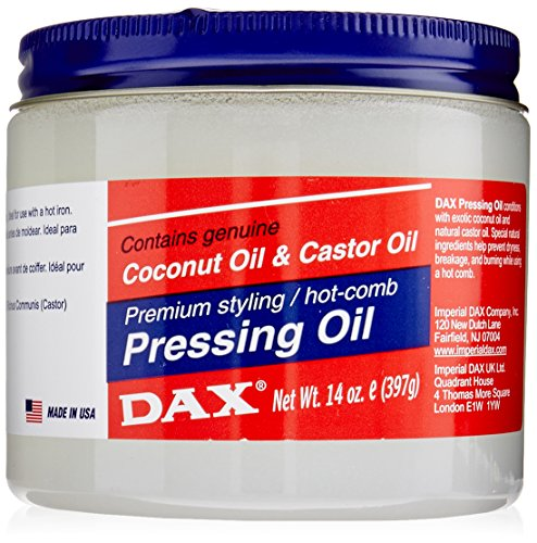 Dax Pressing Oil for Hair, 14 Ounce (Best Product To Straighten Natural Black Hair)