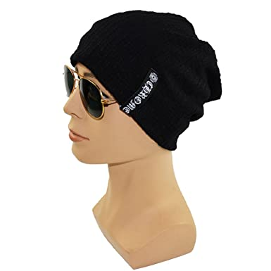 fcb8b035962 CATOP Cool Cotton Summer Beanie Skull Cap Hat Men s Soft Daily Slouchy  Beanie Hat  Amazon.co.uk  Clothing