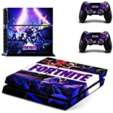 PS4 Whole Body Vinyl Skin Sticker Decal Cover for Playstation 4 System Console and Controllers