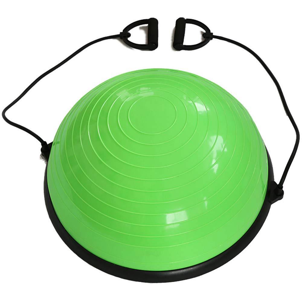 vert  ST-JK   Trainer, Ballon d'exercice avec Sangles de résistance, Wobble Board 22.8  Pilates Fitness équilibrage pour Exercices de résistance, Yoga, Gymnase, entraîneHommest
