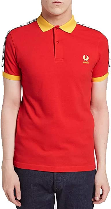 Fred Perry España Country Shirt-S: Amazon.es: Ropa y accesorios