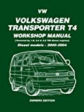 Volkswagen Transporter T4 Workshop Manual, Brooklands Books Ltd, 1855206811