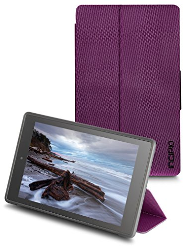 Generations Plum - Incipio Clarion Folio Fire HD 8 Case (Previous Generation - 2015 release), Plum Purple