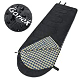 Cheap Gonex Sleeping Bag with Hollow Cotton Black(Right Pack)