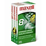 Maxell 213030 VHS T160 Standard Grade - 3 Pack