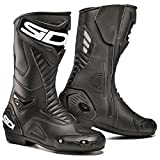 #4: Sidi Performer Touring Motorcycle Boots Black US9.5/EU43 (More Size Options)