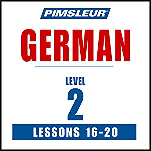German Level 2 Lessons 16-20 Speech