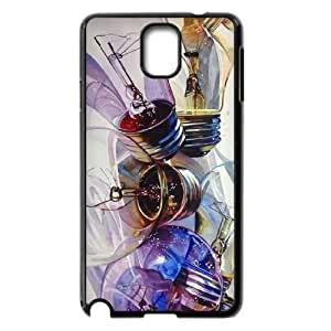 DIY Cover Case for samsung galaxy note3 n9000 w/ Cute Light bulb image at Hmh-xase (style 8)