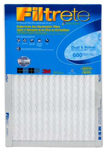 3M Filtrete Air Filter, MPR 600, 16