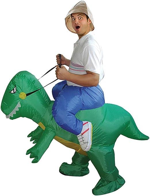 LBAFS Niños/Adultos Inflables Dinosaurio Disfraz De Halloween ...