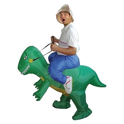 Amazon.com: LBAFS - Disfraz de dinosaurio hinchable para ...