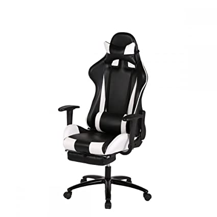 Delicieux Video Game Chair Gaming Chairs Laptop Computers Computer Racing Cool Kids  Adult Laptops Office Networking White