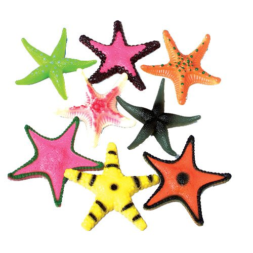 lot-of-12-large-assorted-color-design-plastic-starfish-4