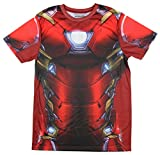 Marvel Comics Captain America Civil War I Am Iron Man Men's Costume T-Shirt, Large