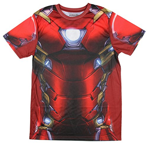 Iron Man Costume T-Shirt