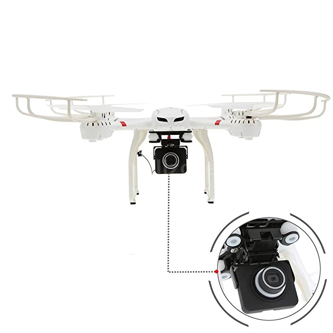MJX X101 2.4G RC FPV Drone 6 Axis Gyro Supper Large Quadcopter UAV ...
