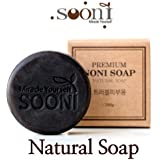 "[Sooni]100% natural ingredients ""Super food"" Noni soap for Acne, trouble skin type"