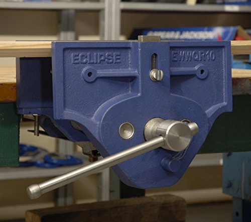 Eclipse Quick Release Woodworking Vise Gray Cast Iron 7 Size