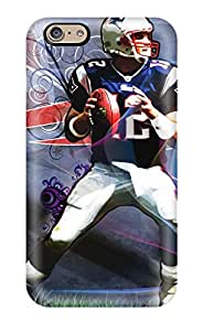 Durable Defender Case For Iphone 6 Tpu Cover(tom Brady)