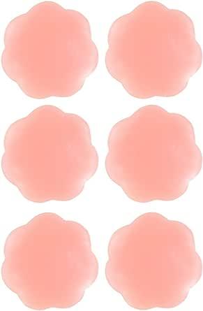 Senchanting Thin Reusable Adhesive Silicone Nipple Covers Breast Petals Pasties