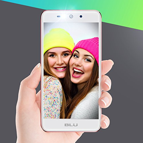 BLU Grand XL - Unlocked Smartphone -5.5'' Display, 8GB +1GB RAM -Rose Gold by BLU (Image #7)