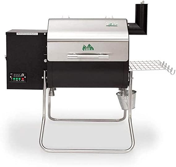 Green Mountain Davy Crockett Sense Electric Wood Pellet Tailgating Grill