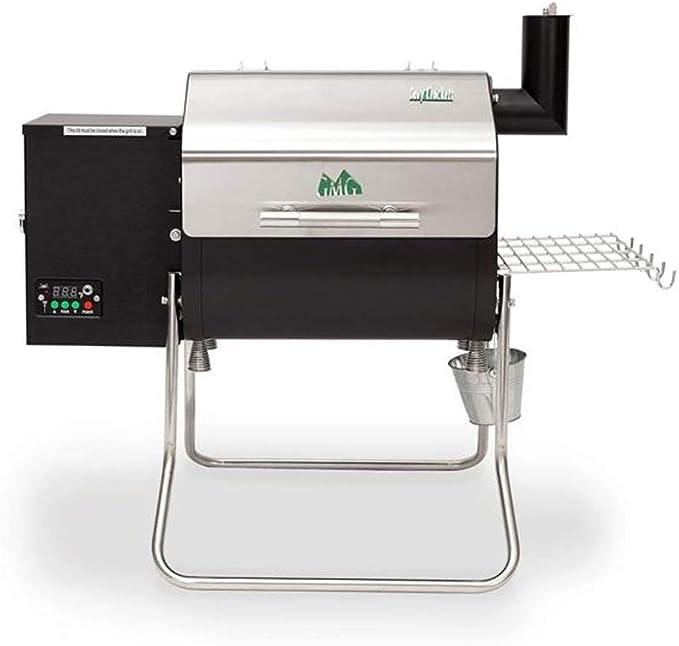 Green Mountain Davy Crockett Sense Mate Electric Wood Pellet Tailgating Grill - Best Design