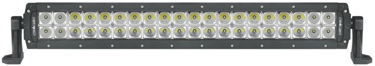 22'' Long Double Row Bar, 7,800 Lumens, Flood/Spot Beam, Optimal Penetration 1,600'