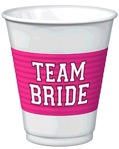 Amscan 25 Piece Team Bride Plastic product image