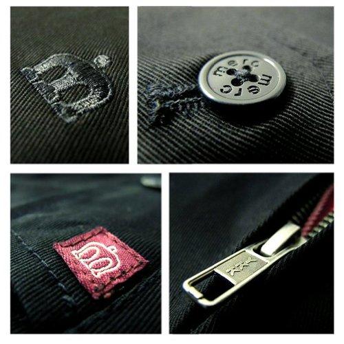 All Merc Jacket New Black mod scooter London Retro Harrington Sizes wqR8TBwr