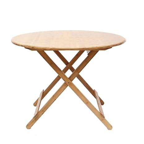 Amazon.com: Mesas XIAOMEI simples plegables de bambú de ...