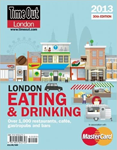 Book Time Out London Eating and Drinking Guide by Time Out Editors (19-Oct-2012)