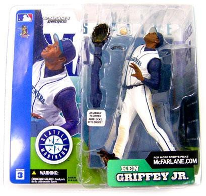 8ab163a37b Image Unavailable. Image not available for. Color: Mcfarlane Toys MLB  Sports Picks Series 3 Action Figure Ken Griffey Jr. (Seattle Mariners