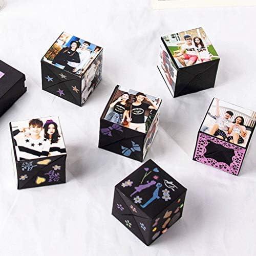 NoBrand Bo/îte Cadeau Creative Surprise Explosion Box Cadeau Surprise Scrapbooking Album Photo Coffret Cadeau Anniversaire Mariage Saint Valentin