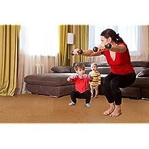 "Best flooring for basement - 11mm Golden Beach Cork Flooring Floating 6""x6"" Samples"