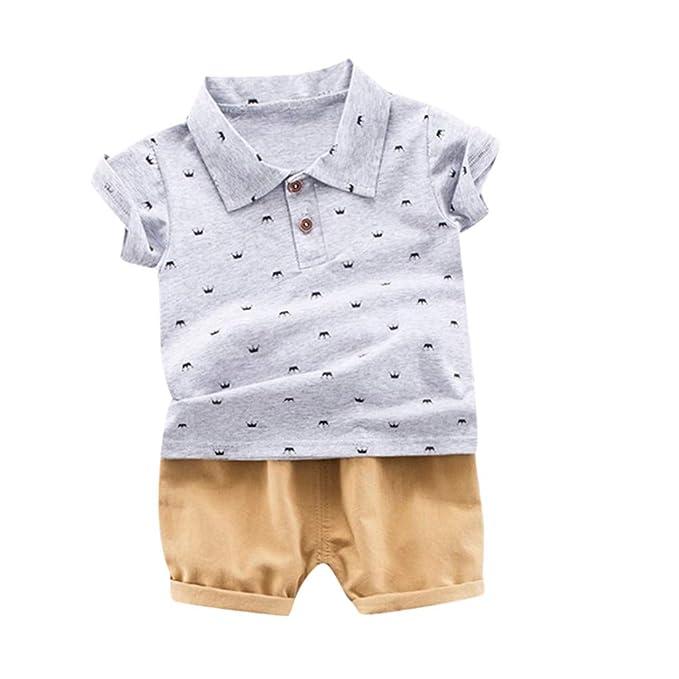 Amazon.com: Conjunto de pantalones cortos para bebés y niños ...